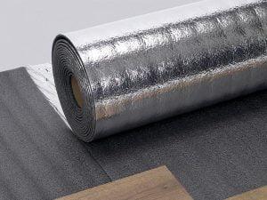 Isolation phonique de votre parquet avec la sous couche silverfoam Theard.